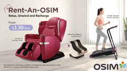 Beauty & Health offers in the OSIM catalogue ( 10 days left)