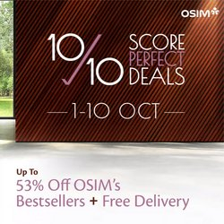 OSIM offers in the OSIM catalogue ( Expired)