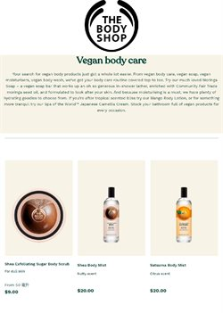 The Body Shop catalogue ( 15 days left )