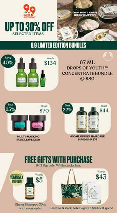 Beauty & Health offers in the The Body Shop catalogue ( 10 days left)