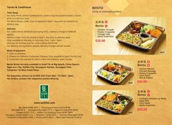 Offers from Sushi Tei in the Singapore leaflet