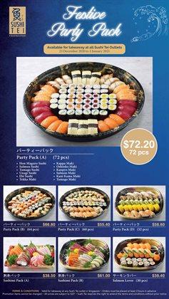 Sushi Tei catalogue in Singapore ( Expired )