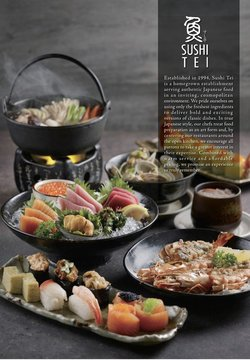 Sushi Tei catalogue ( 27 days left )