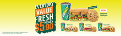 Offers from Subway in the Singapore leaflet