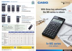 Casio offers in the Casio catalogue ( Expired)