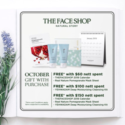 Offers from The Face Shop in the Singapore leaflet