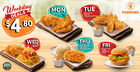 Popeyes coupon ( 4 days left )