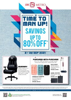 Department Stores offers in the Metro catalogue ( 2 days left)