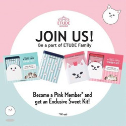 Offers from Etude in the Singapore leaflet