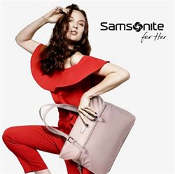 Offers from Samsonite in the Singapore leaflet