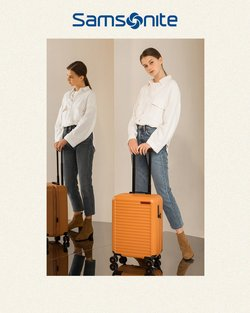 Clothes, shoes & accessories offers in the Samsonite catalogue ( 3 days left)