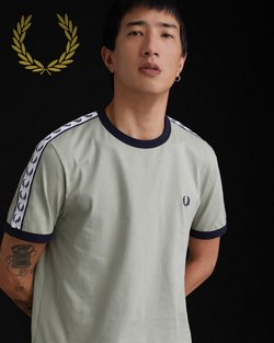 Fred Perry offers in the Fred Perry catalogue ( 25 days left)