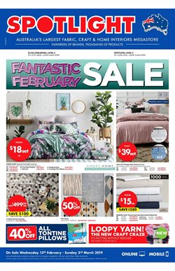 Home & Furniture offers in the Spotlight catalogue in Singapore