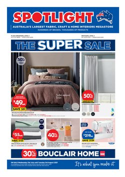 Home & Furniture offers in the Spotlight catalogue ( Expires tomorrow)