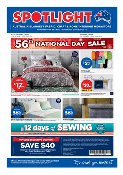 Home & Furniture offers in the Spotlight catalogue ( Published today)