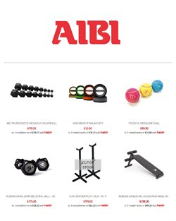 Sport offers in the AIBI catalogue ( 6 days left )