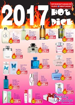 Offers from Beauty Language in the Singapore leaflet