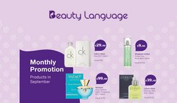 Beauty & Health offers in the Beauty Language catalogue ( 10 days left)