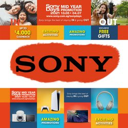 Sony offers in the Sony catalogue ( 18 days left)