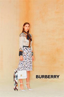 Burberry catalogue ( More than a month )