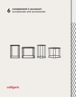 Calligaris catalogue ( More than a month )