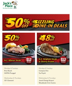 Department Stores offers in the Yue Hwa catalogue ( Expires Today )