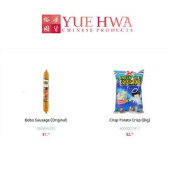 Yue Hwa catalogue ( 1 day ago )