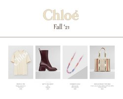 Chloe offers in the Chloe catalogue ( More than a month)