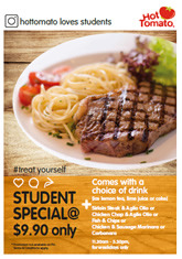 Offers from Hot Tomato in the Singapore leaflet
