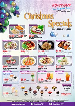 Offers from Kopitiam in the Singapore leaflet