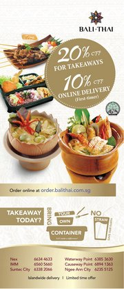 Bali Thai catalogue ( Expires tomorrow)