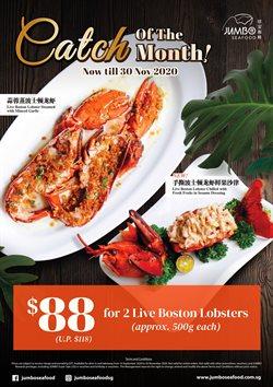 JUMBO Seafood catalogue ( 6 days left )