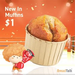 BreadTalk offers in the BreadTalk catalogue ( 13 days left)