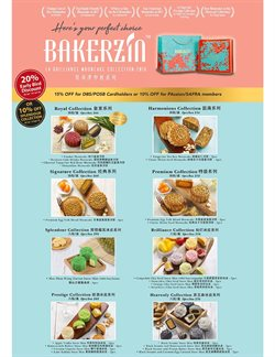 Offers from Bakerzin in the Singapore leaflet