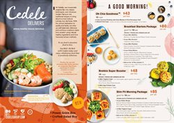 Offers from Cedele in the Singapore leaflet