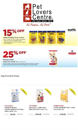 Pet Lovers Centre catalogue ( 5 days left )