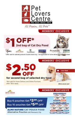 Pet Lovers Centre catalogue ( 1 day ago )