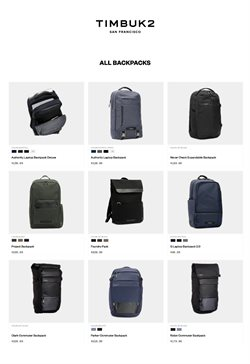 Timbuk2 catalogue ( More than a month )