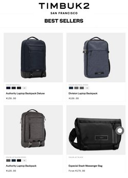 Timbuk2 offers in the Timbuk2 catalogue ( Expired)