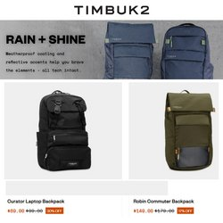 Timbuk2 offers in the Timbuk2 catalogue ( 6 days left)