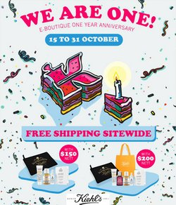 Beauty & Health offers in the Kiehl's catalogue ( 3 days left)