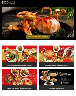 Seafood Paradise catalogue ( Expired )