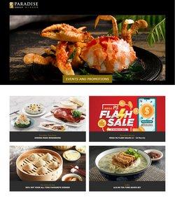 Seafood Paradise catalogue ( Expired )