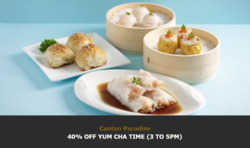 Offers from Paradise Dynasty in the Singapore leaflet