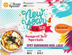 Restaurants offers in the The Soup Spoon catalogue in Singapore