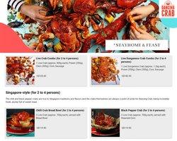 Dancing Crab catalogue ( Expires Today )
