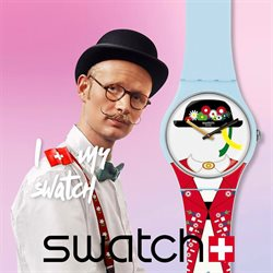 Offers from Swatch in the Singapore leaflet