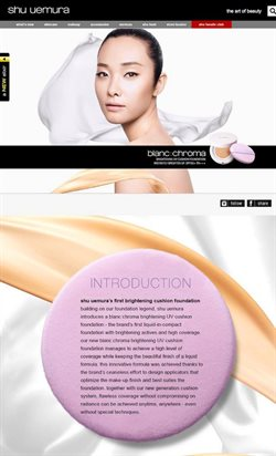 Offers from shu uemura in the Singapore leaflet