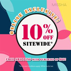 Missha catalogue ( Expired )