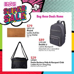 Department Stores offers in the BHG catalogue in Singapore ( 10 days left )